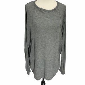 Bench Lightweight Sweater Grey Long Sleeves